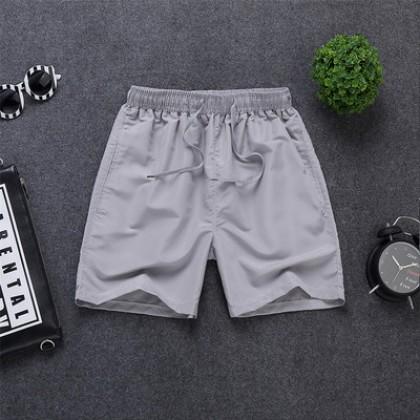 Men Korean Fashion New Summer Quick Drying Running Shorts