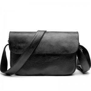Men New Fashion Leather Messenger Cross body Diagonal Shoulder Bag