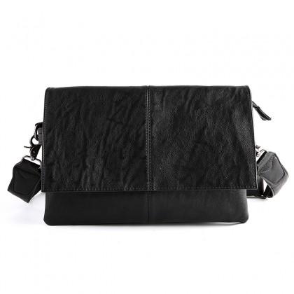 Men New Fashion Soft Leather Messenger Casual Diagonal Shoulder Bag