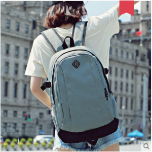 Men Korean Youth Fashion Inter layer Oxford Travel Backpack