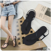 Women Korean Wild Style Summer Beach Pin Toe Non Slip Bohemian Sandals