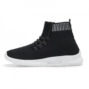 Women Korean Wild Style Trendy Casual Lace up Sports Sock Shoes