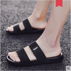 Men's Korean New Trend Wild Style Summer Beach  Plastic Slippers