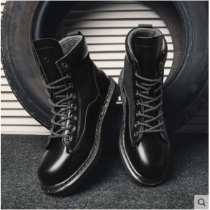 Men's Korean New Trend Casual Retro High Top Martin Boots