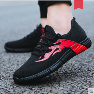 Men's Korean Youth Trend  Wild Style Running Cotton Shoes