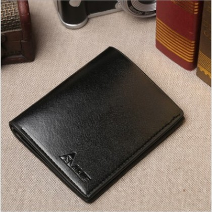Men Short Leather Multi Function Business and Casual  Wallet