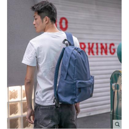 Men Korean College Fashion  Large Inter layer Soft Zipper Backpack