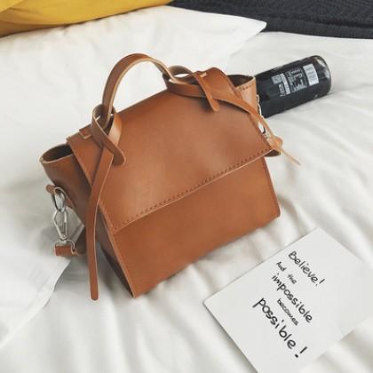 Women Korean Fashion  Retro Wild Style Mini Messenger Shoulder Bag