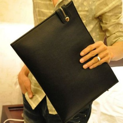 Men Office Working Bags PC Documents Envelope