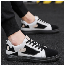 Men's Korean Youth  Old School Style Canvas Shoes