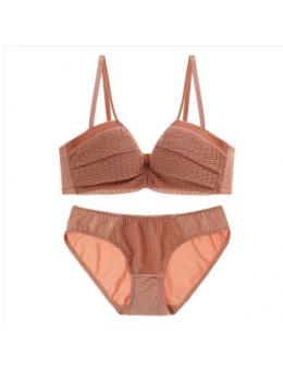 Women New Sexy Temptation Lace Non Wire Underwear Set