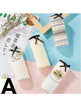 Women New 100% Cotton  Anti Bacterial Low Waist Underwear