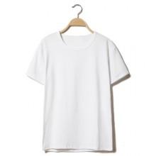 Men Harajuku Style Casual Slim Short Sleeved Trendy T Shirt