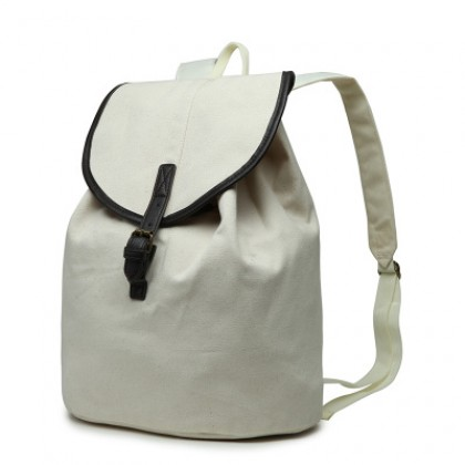Women Korean Trend  Youth Wild Style Canvas Travel Backpack