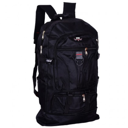 Men Korean Fashion Large Capacity Canvas Travel Mountaineering Backpack