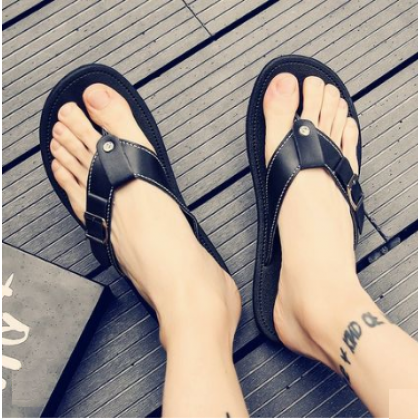 Men New Dragging Style Anti Slippery Beach Casual Slippers