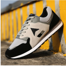 Men Korean Fashion Lace Up Outdoor  Wild Style Sports Shoes