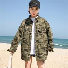 Women Harajuku Style Camouflage Casual Jacket