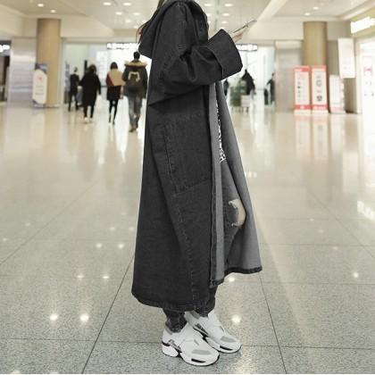 Women Korean Loose Long Coats