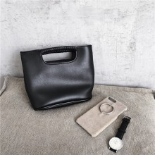 Women Korean Fashion  Soft Leather Two Way Diagonal Handbag