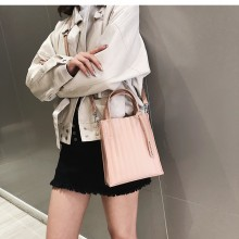 Women Korean Fashion  Wild Style Jelly Striped Messenger Shoulder Bag