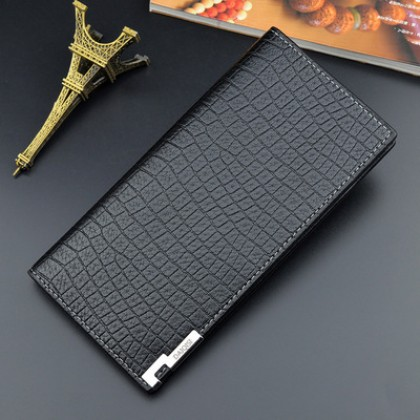 Men Korean Fashion Youth Style  Multi Card Large Capacity Soft Wallet