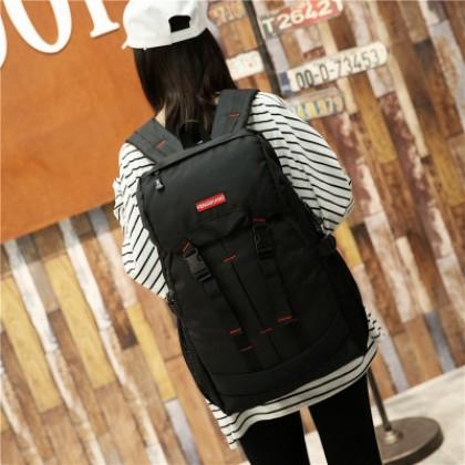 Men Youth Street Fashion Large Capacity Wild Travel Hiking Backpack