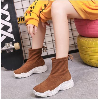 Women Muffin Bottom Fashion Winter Martin Sports and Travel Boots