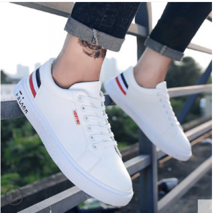 Men Korean Fashion  Wild Casual Lace up  Fashion  Sneakers