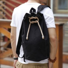 Sports Canvas Travel PC Laptop Men Backpack Bags