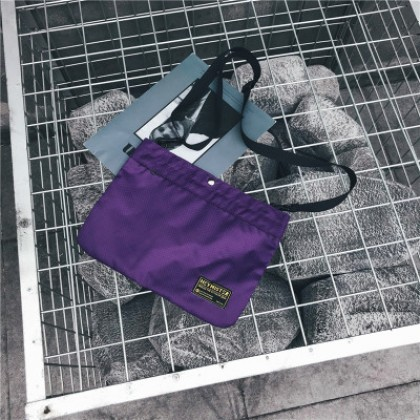 Men Street Fashion  Cool Canvas Messenger Sports Bag