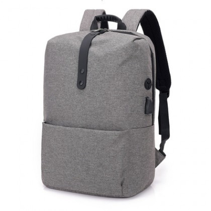 Men Korean Fashion College Casual Large Capacity Travel Backpack