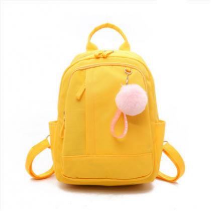 Women Korean Fashion Oxford Cloth Travel Backpack