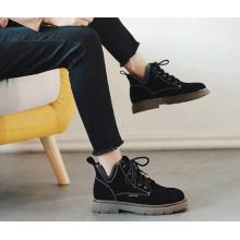 Women Korean Fashion Wild Style Suede Martin Boots