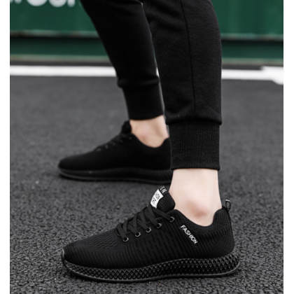Men Korean Street Fashion Color Matching Sporty  Casual Shoes