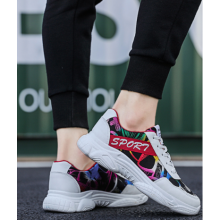 Men Korean Street Fashion Thick Bottom Wild Running Sport Shoes