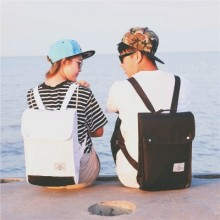 Couple Canvas Backpack