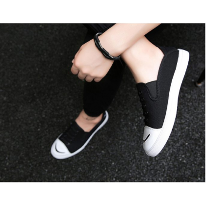 Men Korean Street Fashion  Summer Youth Trend Canvas Sneakers