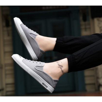 Men Korean Street Fashion  Summer Youth Trend Canvas Sneakers