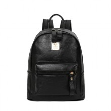Women Korean Fashion  Small Leather School and Casual Backpack