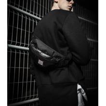 Men Fashion Trend Street Style Small Black Urban Sports Shoulder Bag