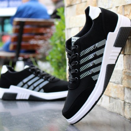 Men Korean Fashion Breathable Casual Mesh Hollow Sports Shoes