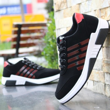Men Korean Fashion Breathable Casual Mesh Hollow Sports Shoes