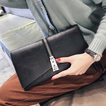 Women Korean Trend Wild Style Small Leather  Fashion Handbag
