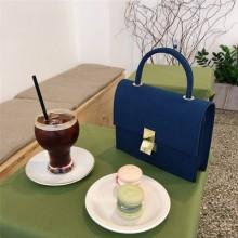 Women Korean Trend Retro Chic Style Matte Leather Handbag