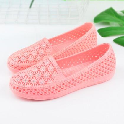 Women New Fashion Non Slip Soft Bottom  Flat Beach Shoes