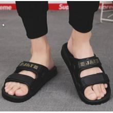Men Korean Fashion Summer Outdoor Non Slip Soft Beach Slippers
