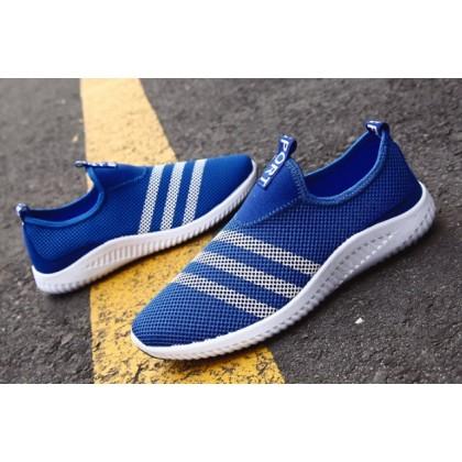 Men Korean Fashion Wild Style Thick Bottom Breathable  Sports Shoes
