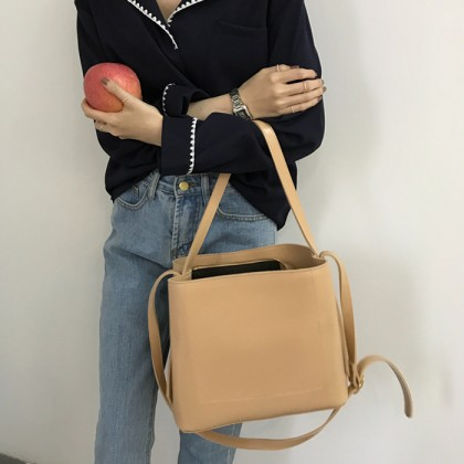Women Korean Fashion  Big Wild Casual and Simple Shoulder Bag