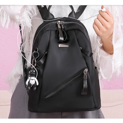 Women Korean Fashion  wild Fashion Oxford Cloth  Casual Backpack